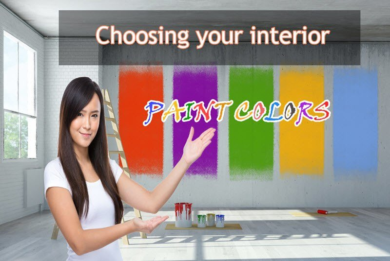 choosing the interior paint colors for your new home