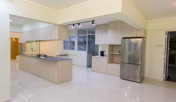 HDB design and built renovation package