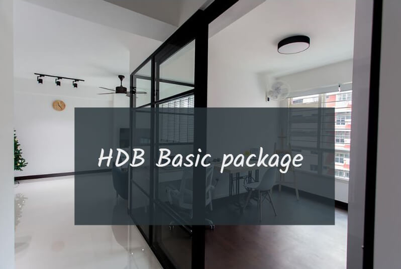 HDB 4 room basic package