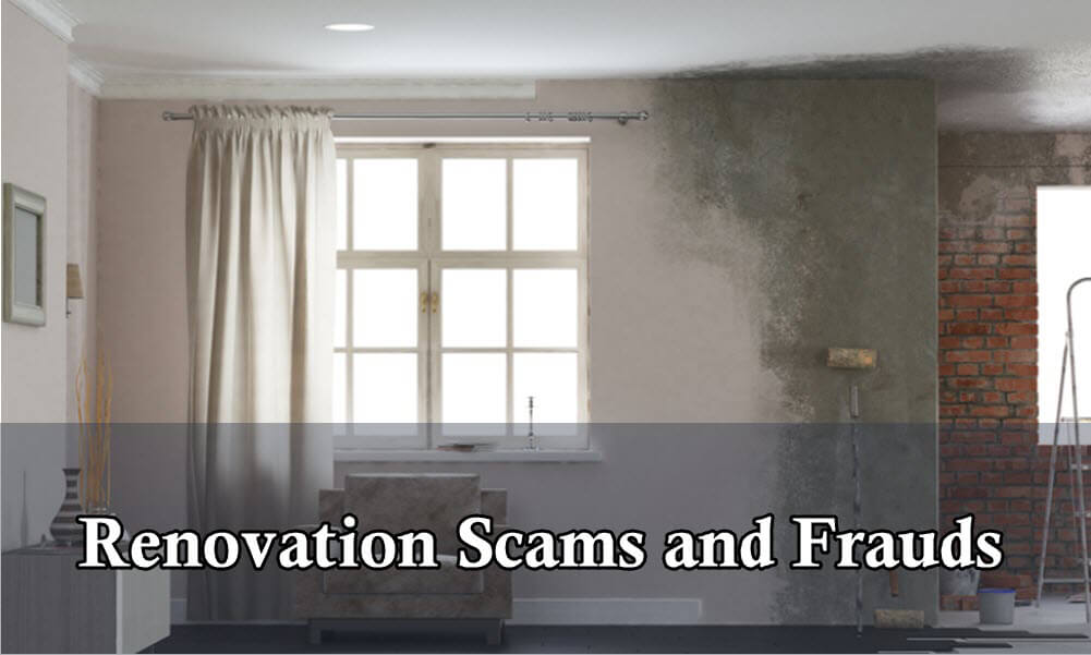 Home Renovation scams